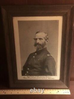 Surgeon 1st Michigan Engineers & Mechanics Framed Civil War Medical Photo