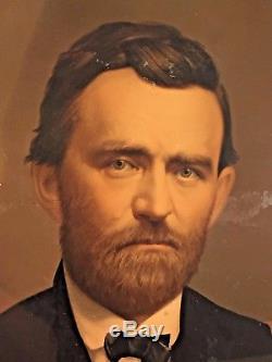 Ulysses S Grant Chromolithograph Middleton & Co in Uniform Civil War 1865