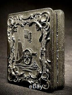 Union Camp CIVIL War Thermoplastic Case & Tintype Of Soldier's Wife Ex+ Cond