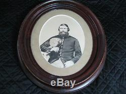 Union Civil War Soldier New Hampshire Volunteers-Oval Frame