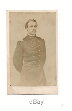 Union Robert Gould Shaw 54th Mass In Uniform Civil War CDV