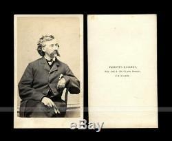 Unpublished CDV bt Fassett Civil War Colonel James A Mulligan 23rd Illinois