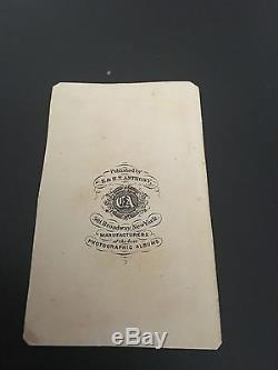 Very Rare JEB STUART CDV Brady Anthony Backmark Gettysburg KIA CSA Civil War