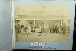Very Rare MOLLUS Civil War/Grand ReviewithAbraham Lincoln Photograph Album
